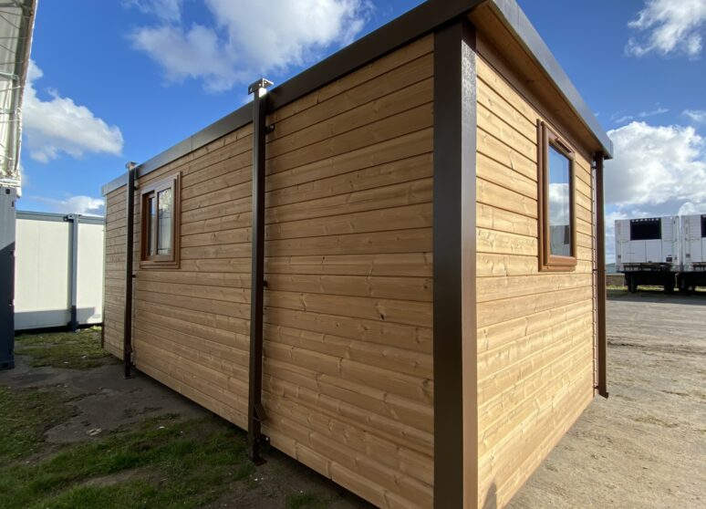 New timber clad cabin