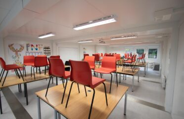 Modular Classroom Internal Shot