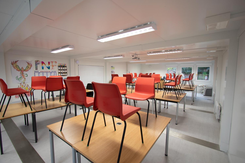 Modular Classroom Internal Shot
