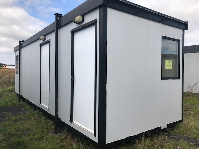 Cabinlocator, 28ft Used portable cabin, 28ft second hand portable building