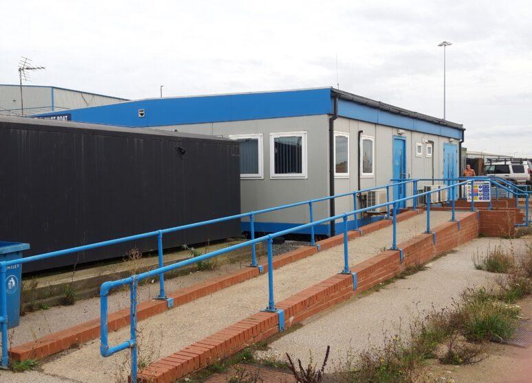 4 bay welfare unit