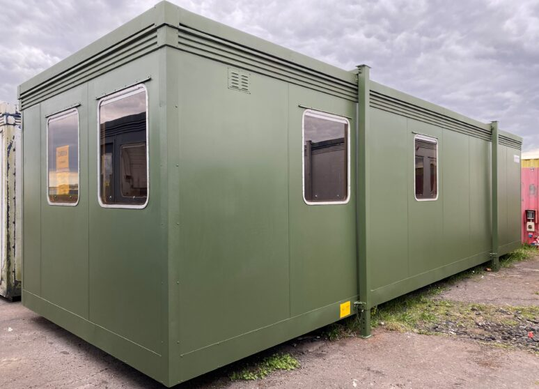 Refurbished portable canteen building