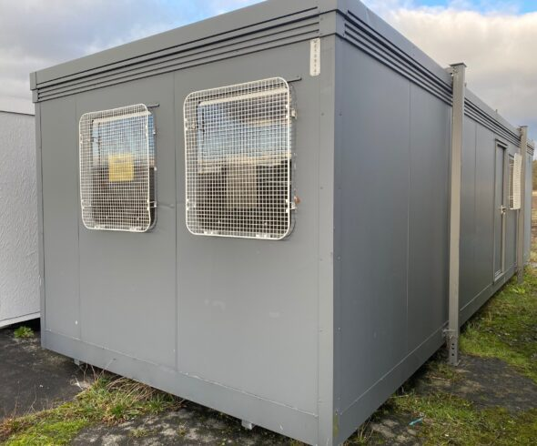 Typical used 32ft portable cabin for sale