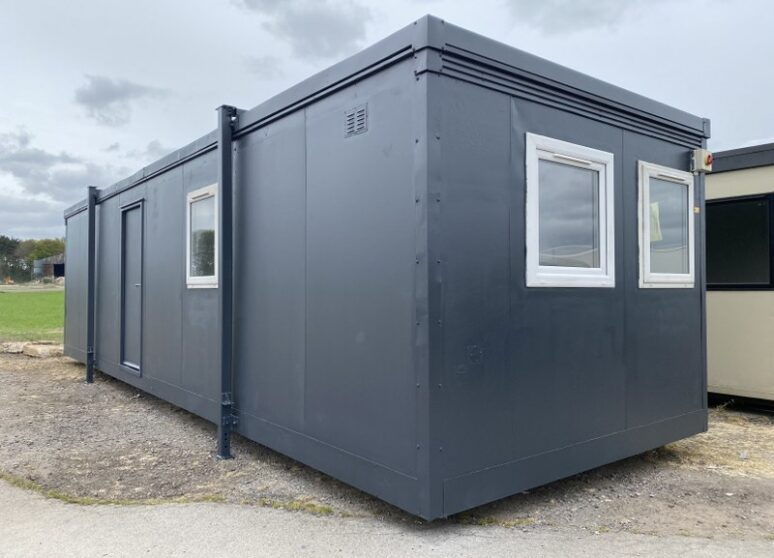 Typical refurbished 32ft portable cabin