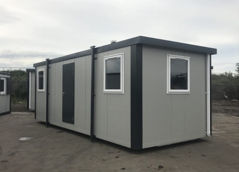 Typical New 12ft Portable Office cabin for sale