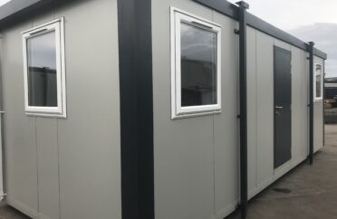 Typical new 24ft portable cabin for sale