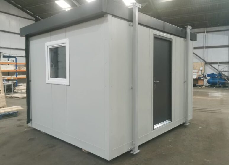 Typical portable cabin for hire
