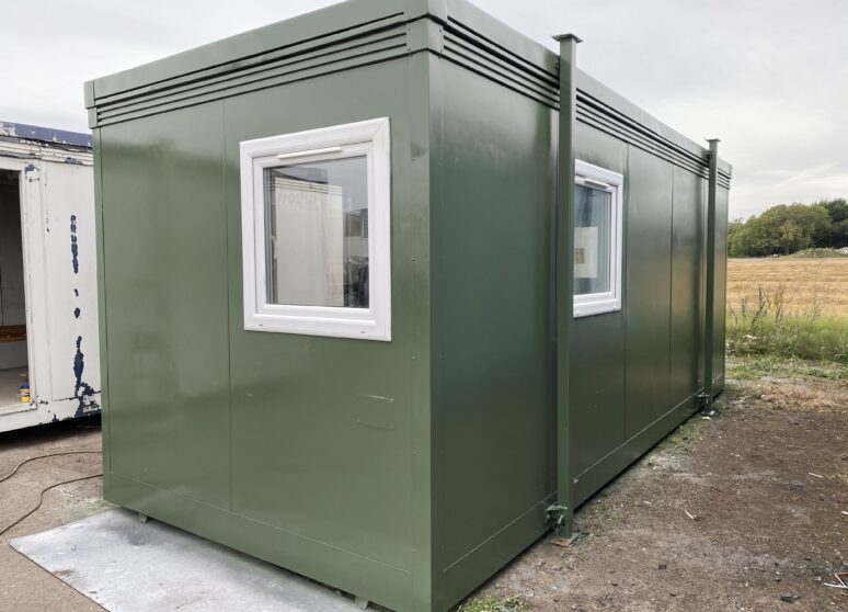 20ft used portable cabin in stock and ready to go for sale